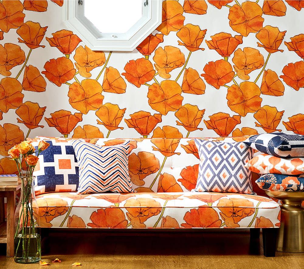 Tips For Designing Large Scale Wallpaper On Spoonflower