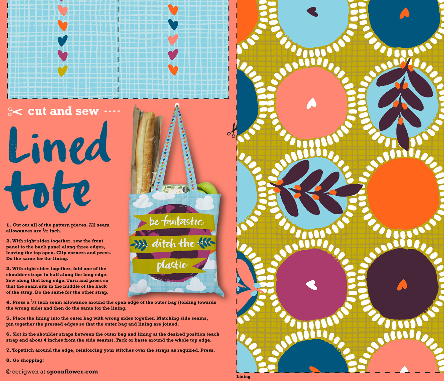 7 Tips for Designing a Cut-and-Sew Project | Spoonflower Blog