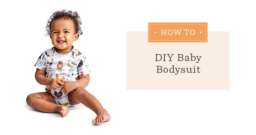 Make an Adorable DIY Baby Bodysuit with This Free Pattern | Spoonflower Blog