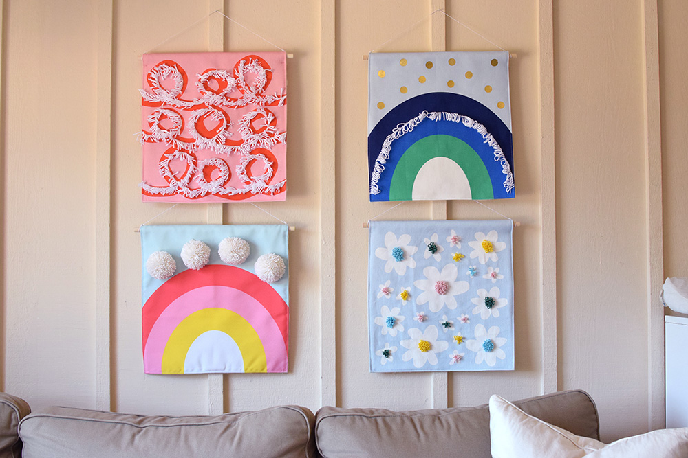 Budget-Friendly Wall Art You Can Make for Under $16 | Spoonflower Blog
