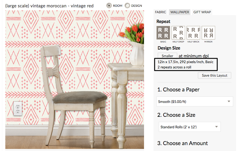 Our Top Tips for Designing Large Scale Wallpaper on Spoonflower | Spoonflower Blog