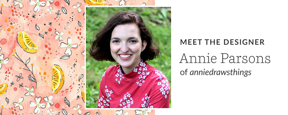 Meet the Designer: Annie Parsons of anniedrawsthings | Spoonflower Blog