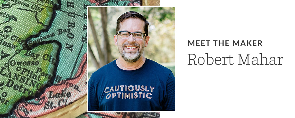 Meet the Maker: Robert Mahar | Spoonflower Blog