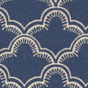 tangier indigo linen by willowlanetextiles