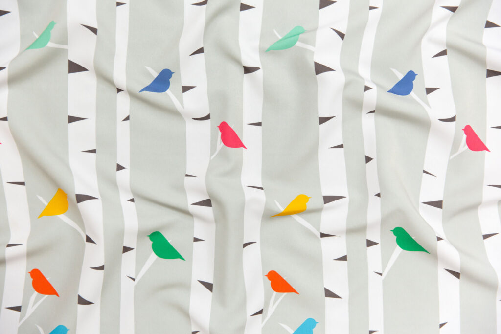 Nesting Place by erijoyjoy is the Gender Neutral Nursery Wallpaper Design Challenge Winner! | Spoonflower Blog