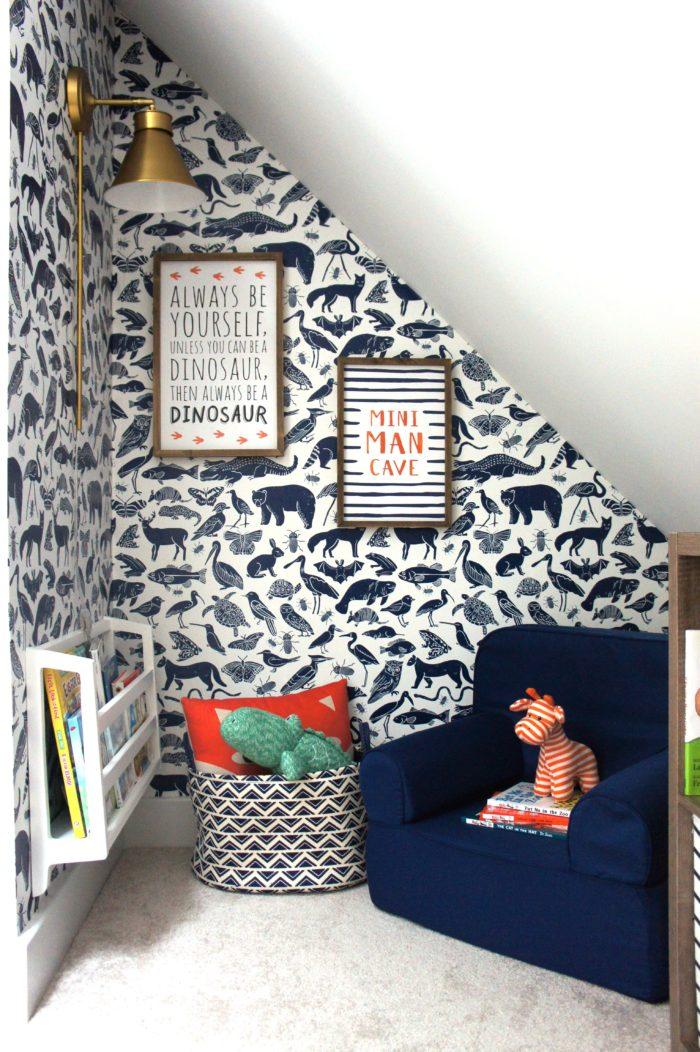 10 DIY-Tapeten Projekte für deine Wohnung - Kinderzimmertapete