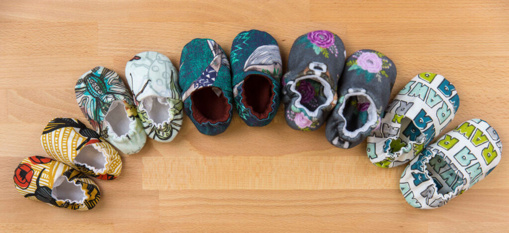 Make a Pair of Baby Shoes with This Free Pattern | Spoonflower Blog