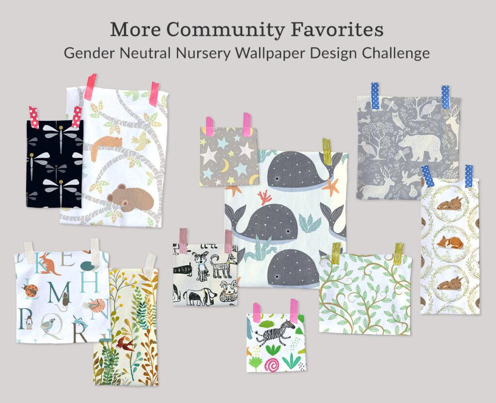 Announcing the Gender Neutral Nursery Wallpaper Design Challenge | Spoonflower Blog