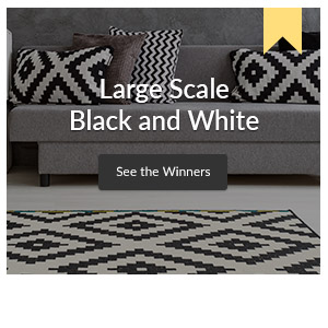 Large Scale Black and White Design Challenge winner | Spoonflower Blog