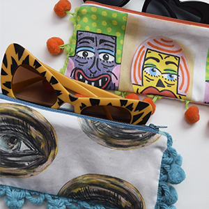 9 Ways to Customize the Two Swatch Sunglasses Case from the Spoonflower Quick-Sew Project Book | Spoonflower Blog