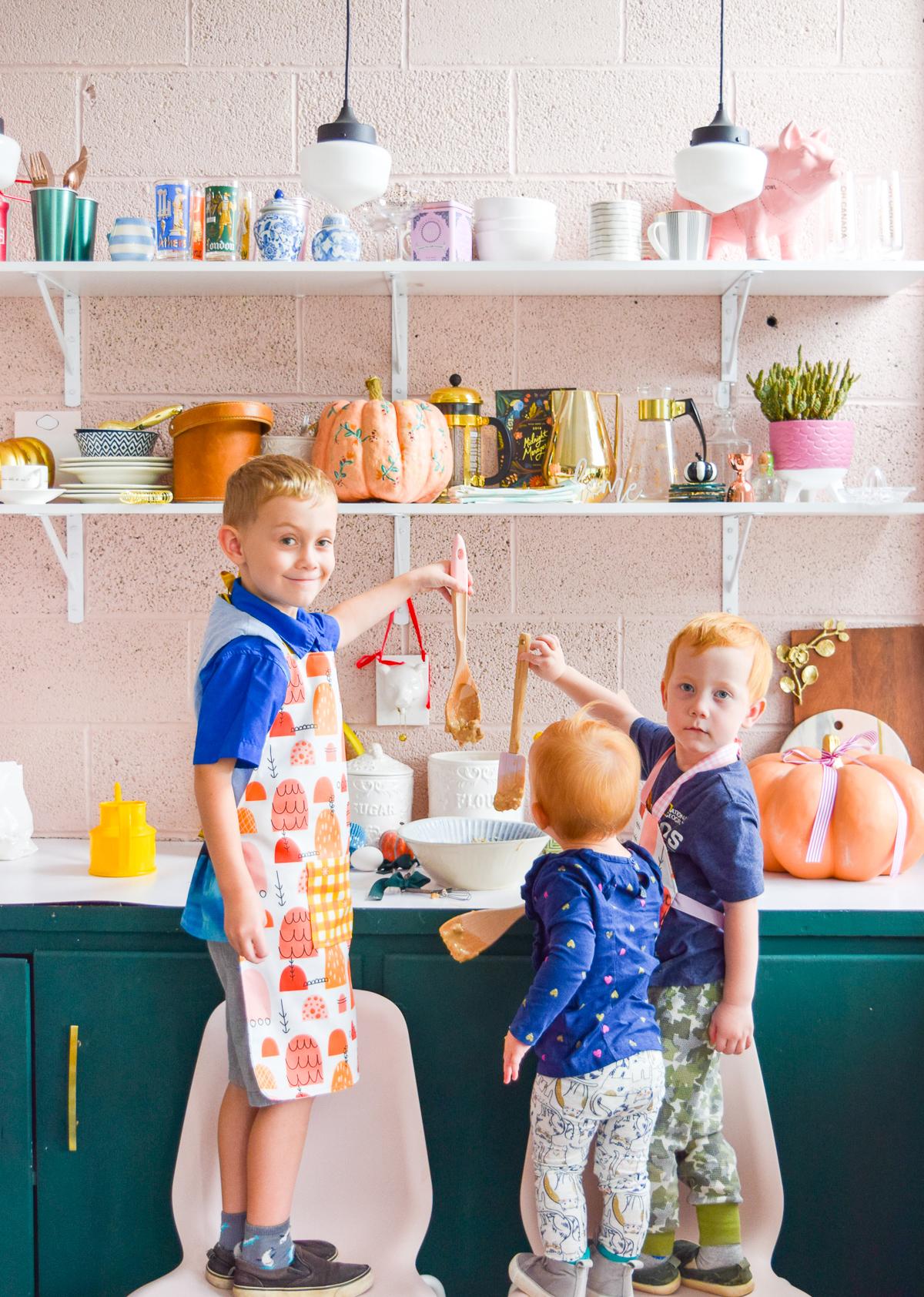 DIY – Eine Kinderschürze für einen angehenden Chefkoch
