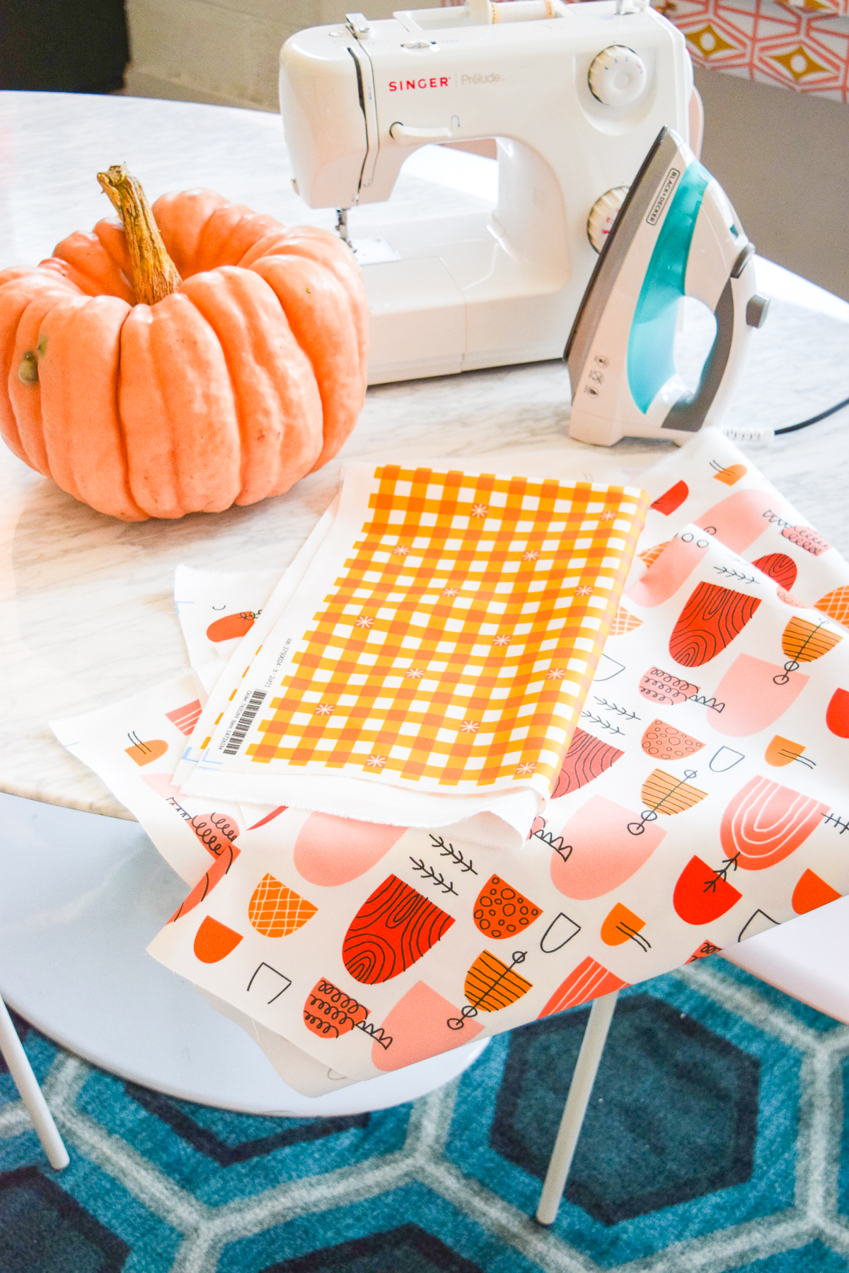 How to Make a Kid-Sized Apron with PMQ for Two | Spoonflower Blog