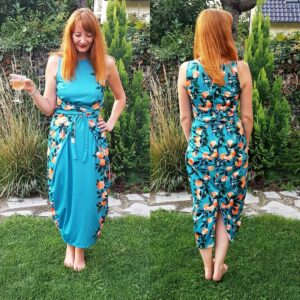 Kielo Wrap Dress | Spoonflower Blog