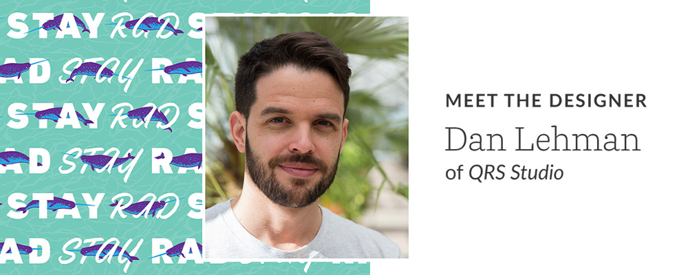 Meet the designer: Dan Lehman of QRS Studio | Spoonflower Blog