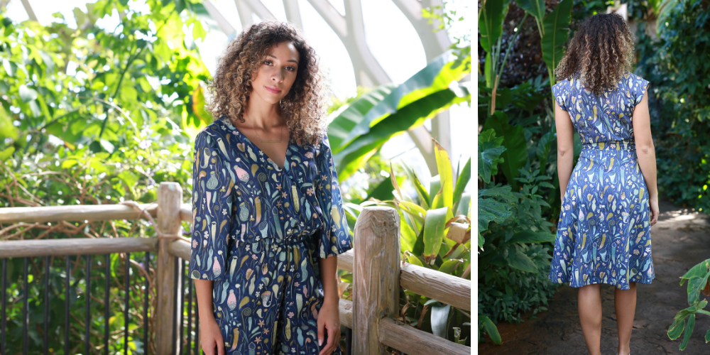 What We're Loving Right Now: 8 Me-Made Looks Featuring the Indiesew x Dan Lehman Collection | Spoonflower Blog