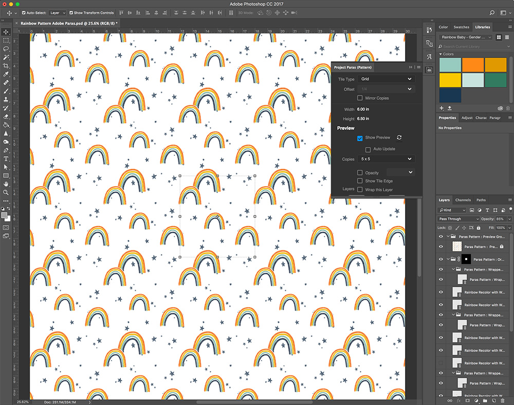 What We're Loving Right Now: Adobe's Newest Repeat Tool, Textile