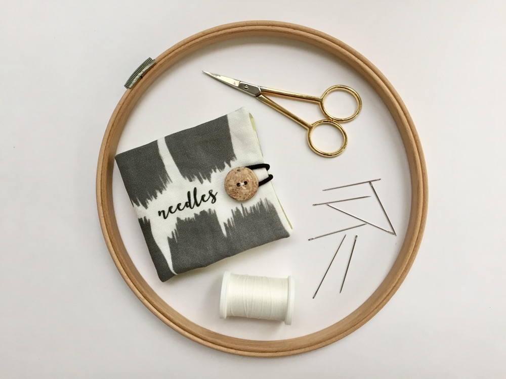Ein praktisches DIY-Nadelheft für deine Nähkiste