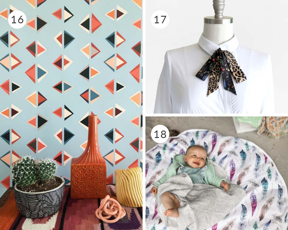 25 Spoonflower Makers to Support on Small Business Saturday   Spoonflower Blog