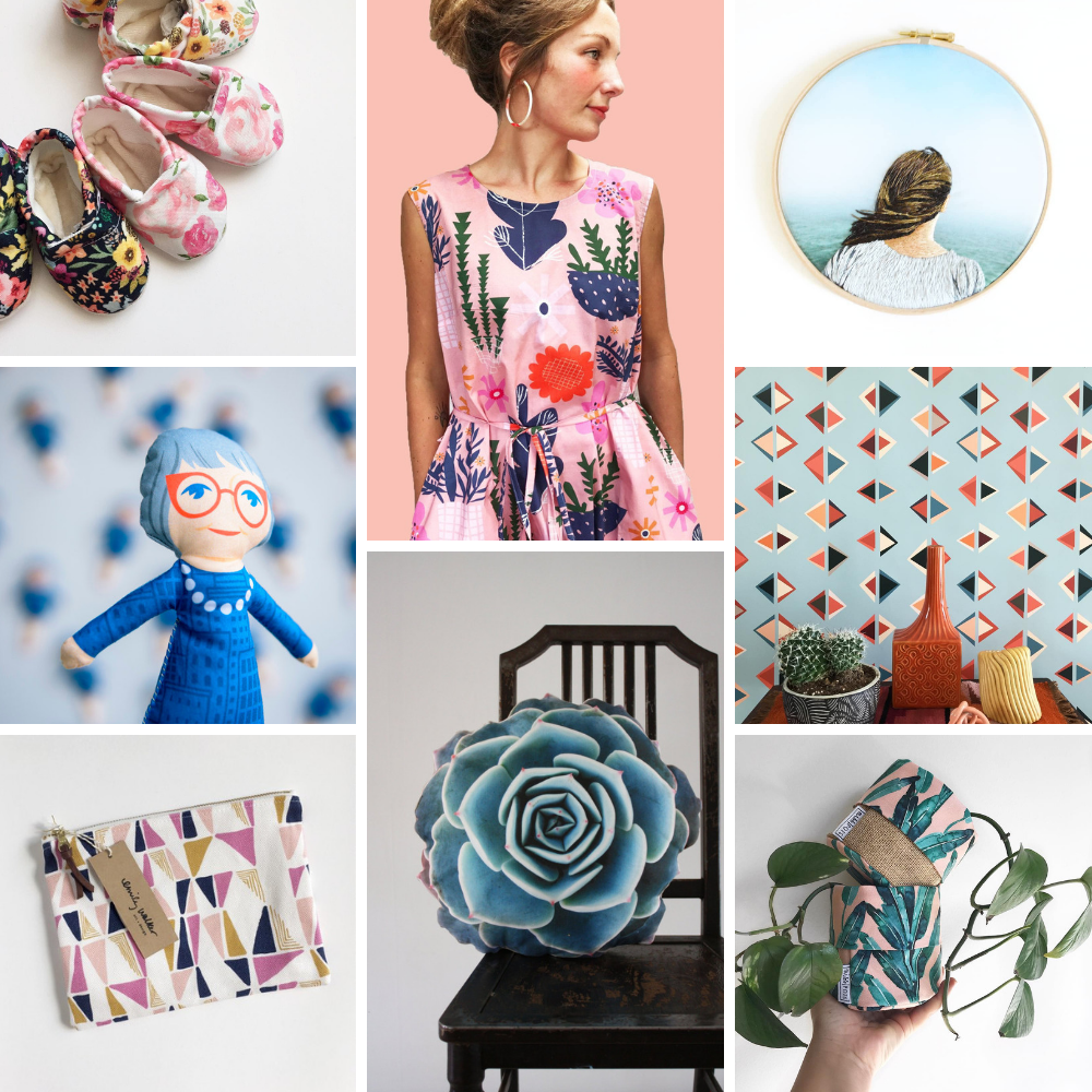 25 Spoonflower Makers to Support on Small Business Saturday | Spoonflower Blog