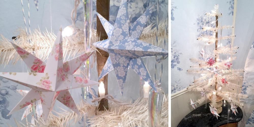 DIY zum Weihnachtsfest – Dänische Papiersterne selber machen