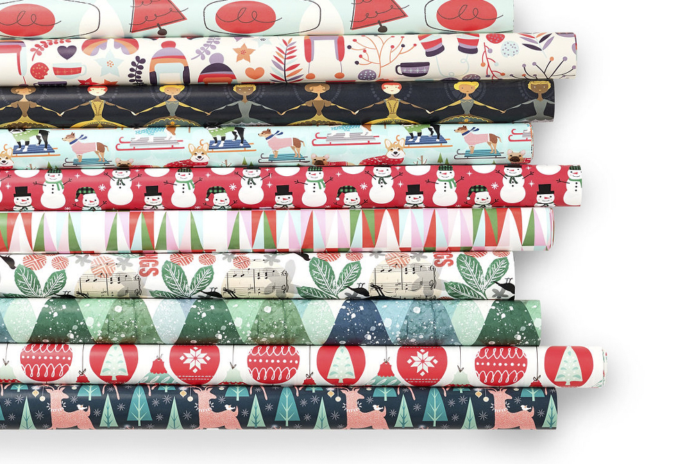 How to Make a Gift Box with Wrapping Paper | Spoonflower Blog