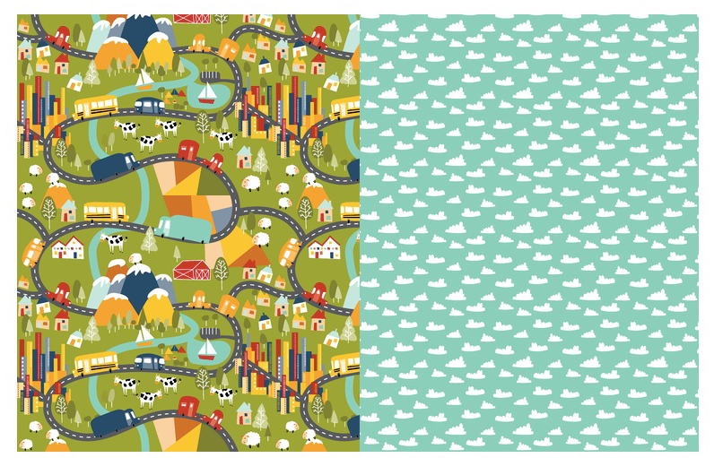 How to Make an Easy Travel Playmat - design ideas | Spoonflower Blog