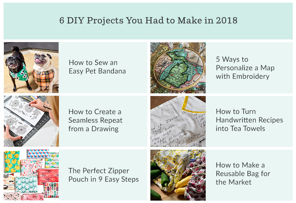 What You Loved in 2018 and What We're Loving for 2019 | Spoonflower Blog