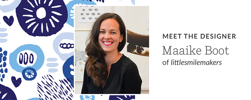 Meet the Designer Maaike Boot of littlesmilemakers | Spoonflower Blog