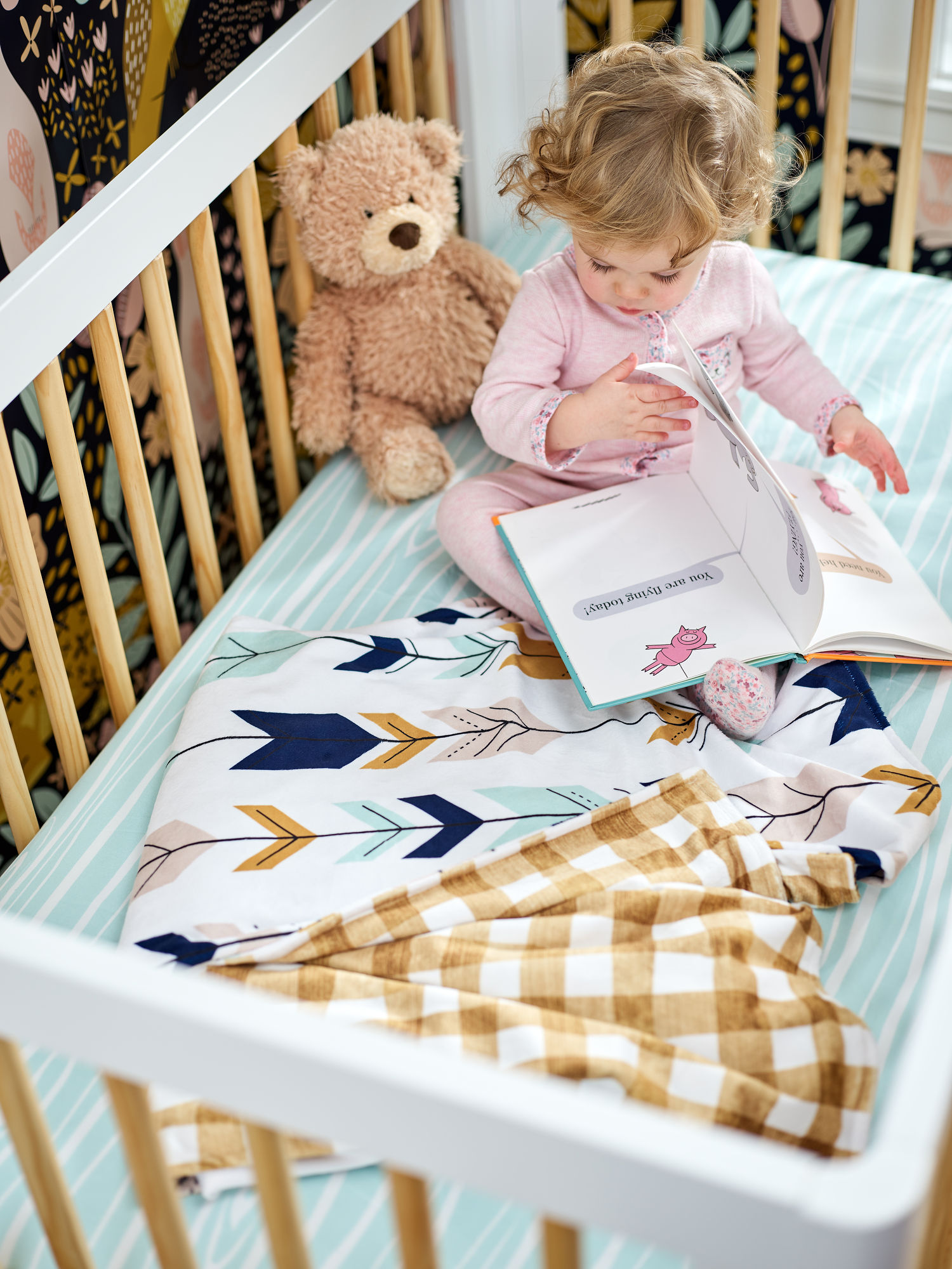 DIY Crib Sheets | Spoonflower Blog