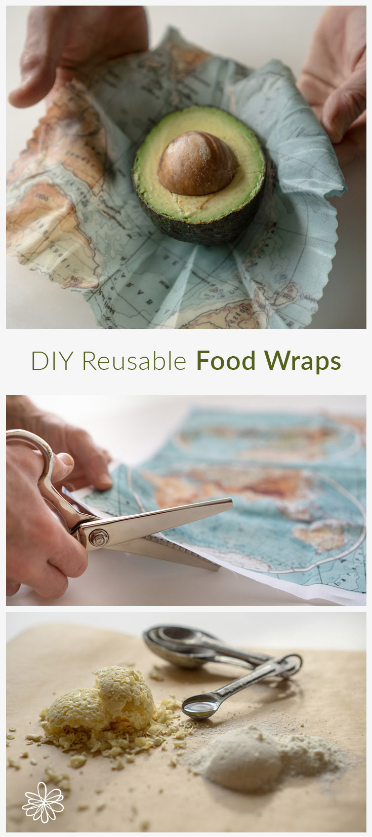 Going Green in 2019 | DIY Reusable Food Wraps | Spoonflower Blog