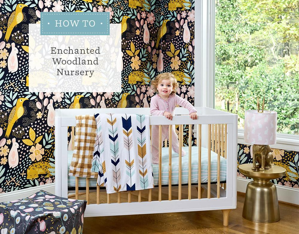 You're Just 6 DIY Projects Away From an Enchanted Woodland Nursery | Spoonflower Blog