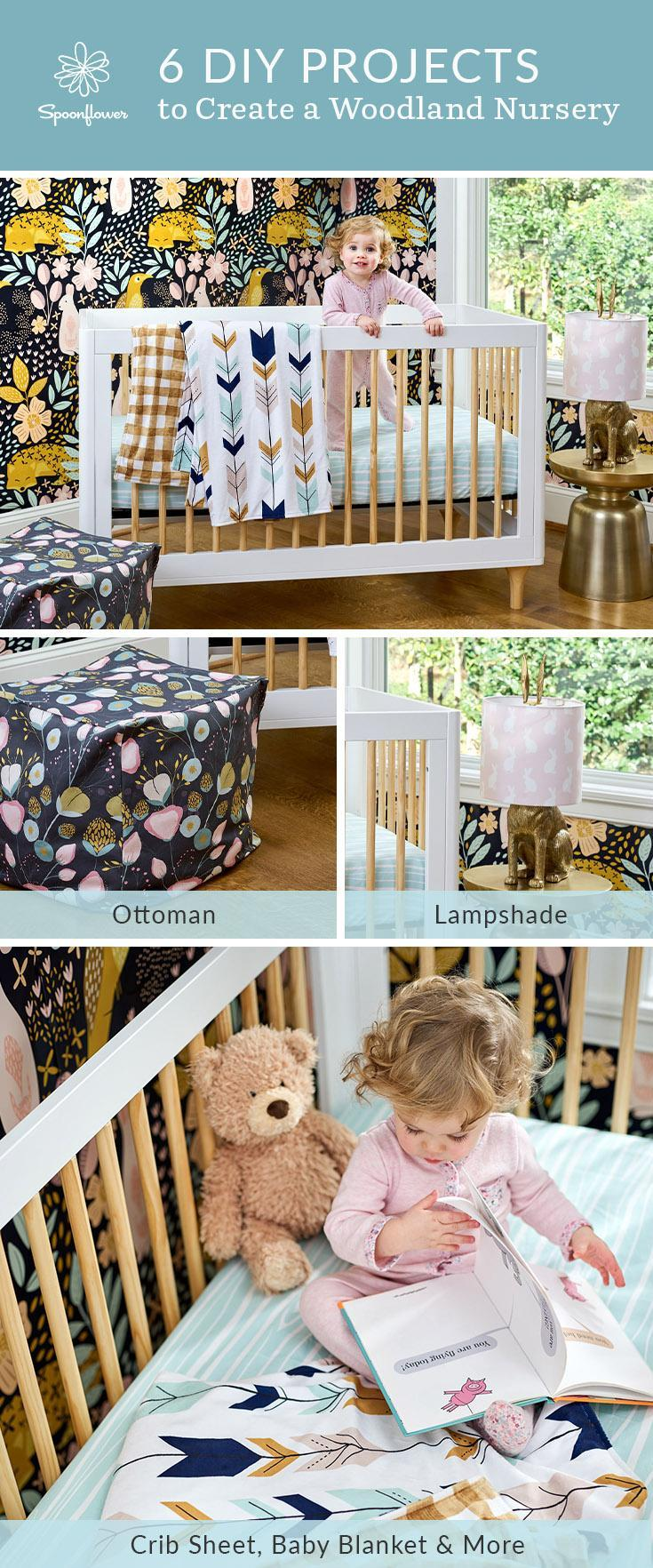 Design a Woodland Nursery with these 6 DIY projects | Spoonflower Blog