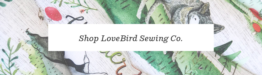 Meet Maker Ashley Fryer of LoveBird BabyNests & WilderNest Sewing Co. | Spoonflower Blog