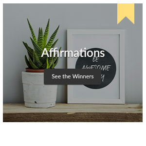 See the winners of the Affirmations Design Challenge