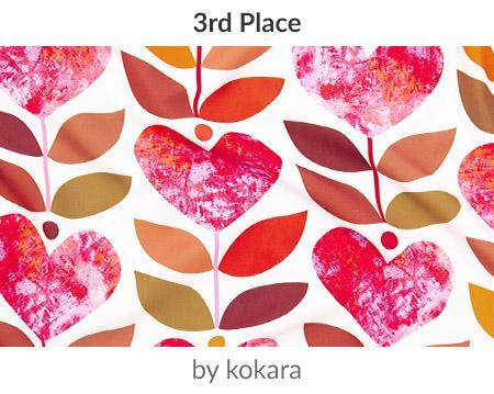 love grows by kokara is a winner in our Be My Valentine Design Challenge! | Spoonflower Blog