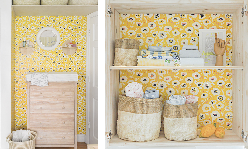 Wallpaper closet | Spoonflower Blog
