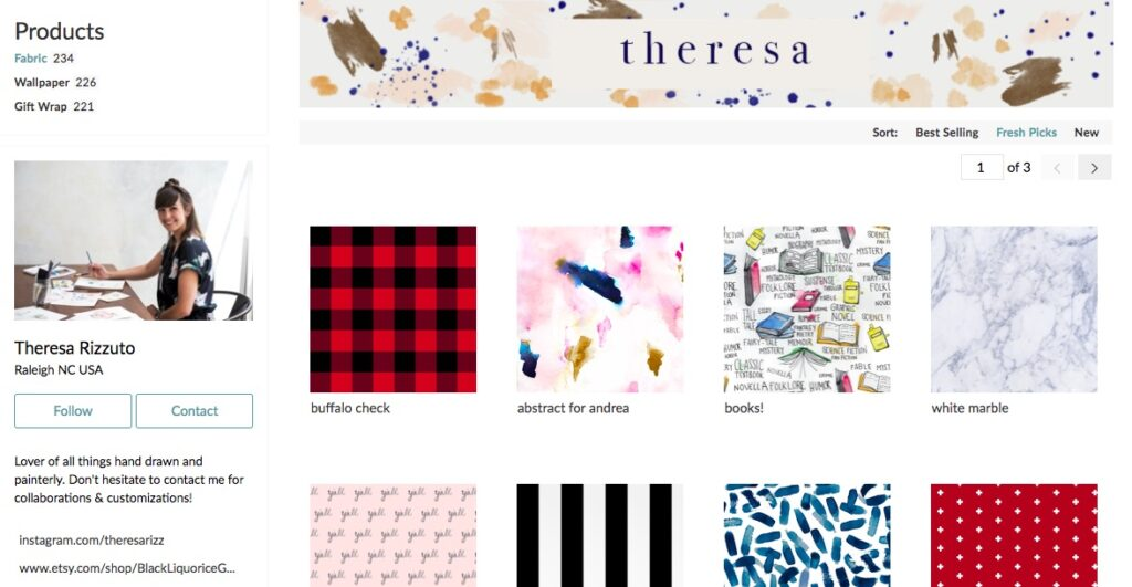 How to Get Discovered in a Marketplace of 750,000+ Designs | Spoonflower Blog