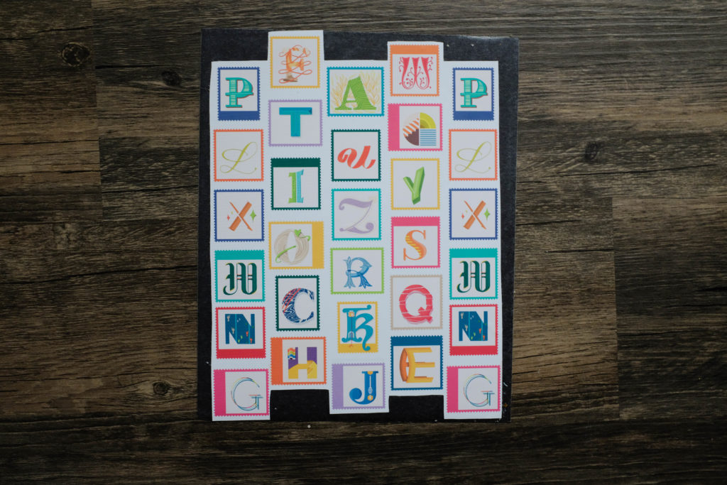 Make a Magnetic Alphabet in 4 Easy Steps | Spoonflower Blog