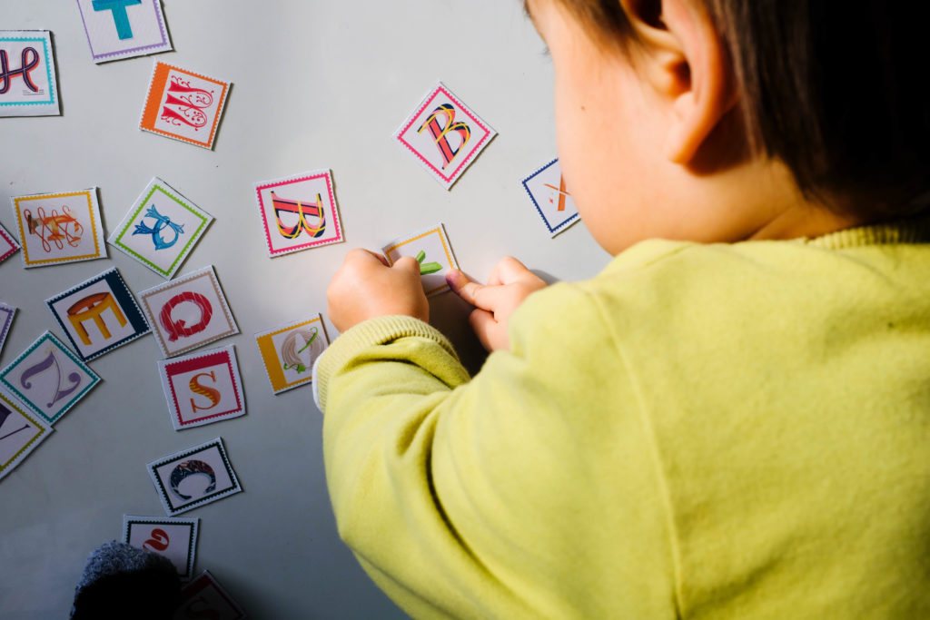 Make a Magnetic Alphabet in 4 Easy Steps | Spoonflower Blog