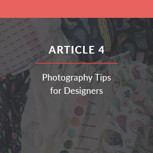 Photography tips for designers | Spoonflower Blog