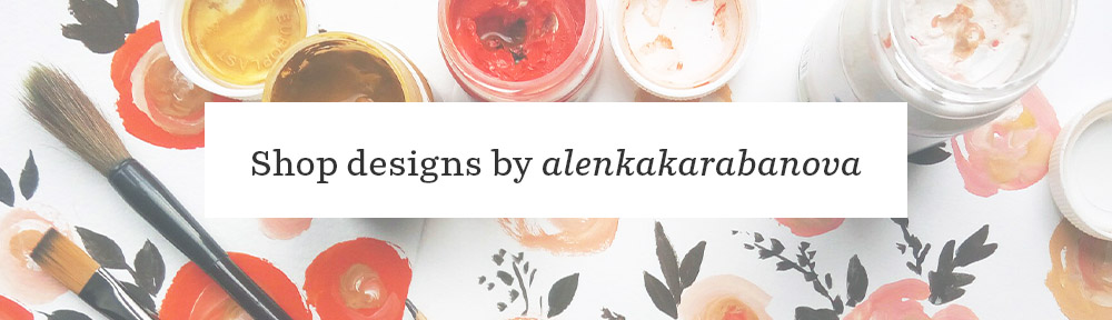 Meet Designer Alena Karabanova | Spoonflower Blog