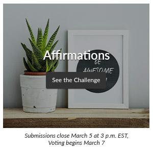 Affirmations Design Challenge | Spoonflower Blog
