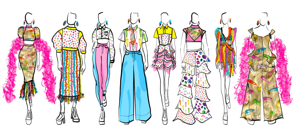 This Project Runway Star Reveals Her Grant-Winning Capsule Collection | Spoonflower Blog