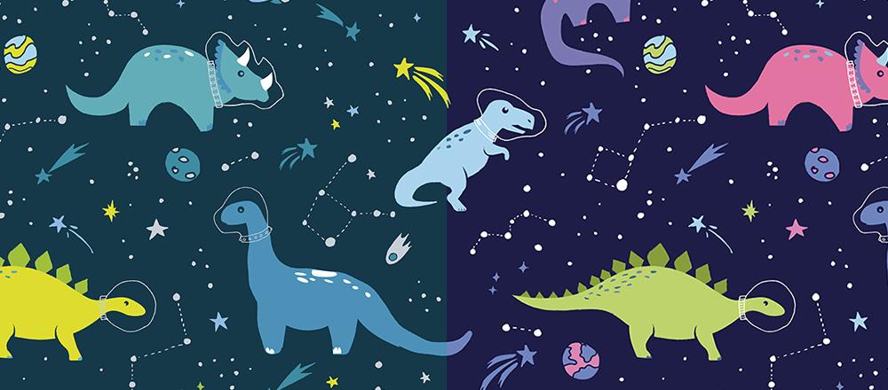 Meghan Dinosaurier-Designs bei Spoonflower