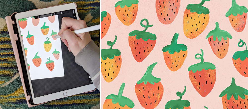 Spoonflower Spotlight: 4 Designers to Keep an Eye on This Month | Spoonflower Blog
