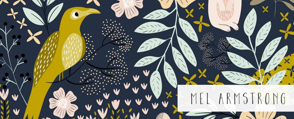 Mels Vogel-Design bei Spoonflower