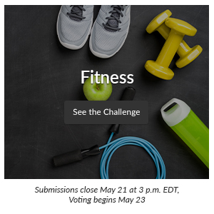 Spoonflower Design Challenge : Fitness | Spoonflower Blog