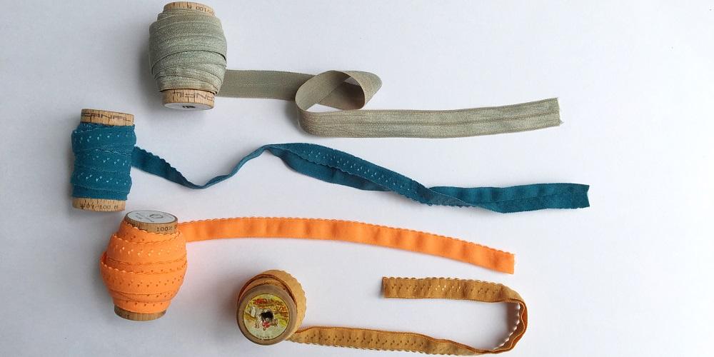Gummiband für Unterwäsche - verschiedene Lösungen