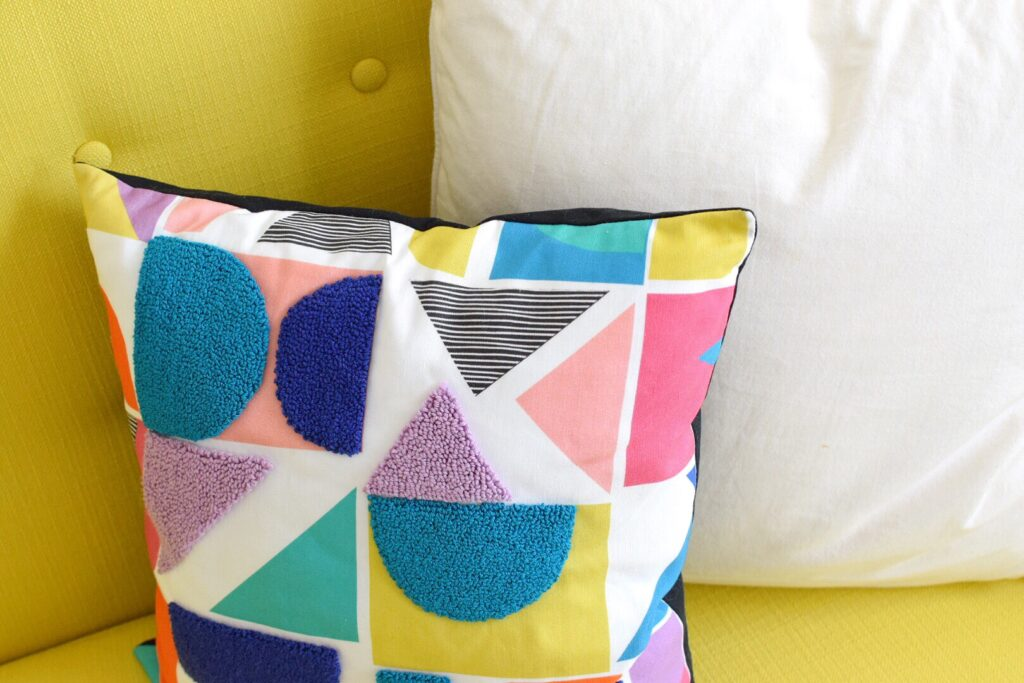 How to Do Punch Needle Embroidery on Spoonflower Fabric | Spoonflower Blog