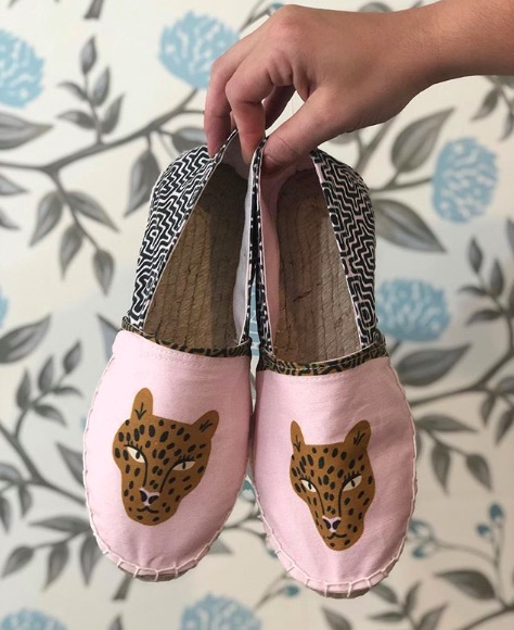 4 Tips For Making Your Own Pair of Espadrilles with Spoonflower Fabric | Spoonflower Blog